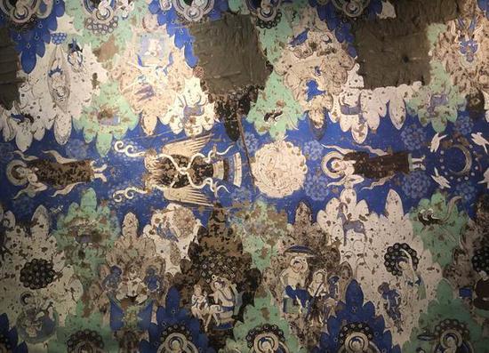 青浦博物馆推出龟兹石窟壁画