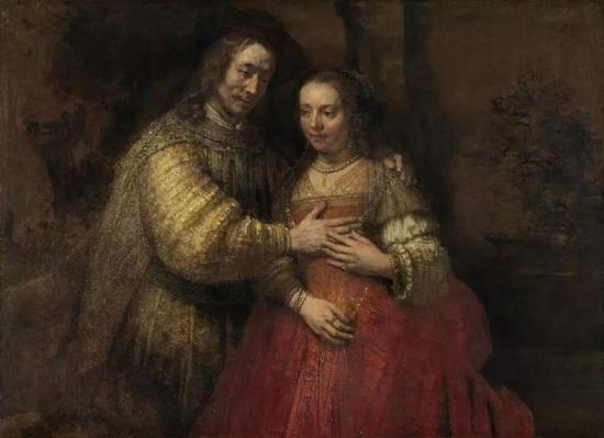 Isaac and Rebecca, Known as 'The Jewish Bride, c。 1665 – c。 1669