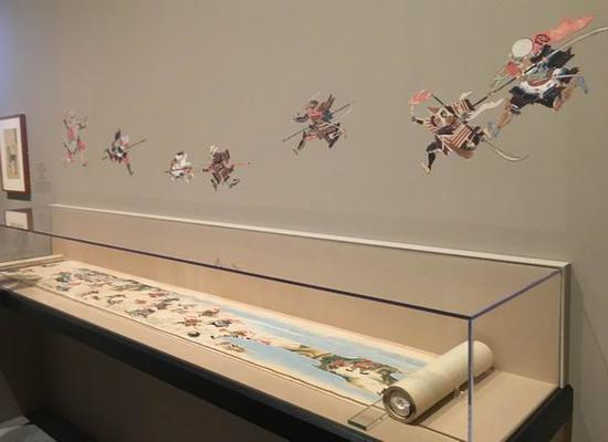 展览现场的ξ 细节设计包雯璐 摄展↑览持续至8月18日。