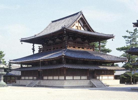 法隆寺金堂为何时何人建立