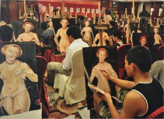 图片来自网络:限时6小时的绘画比赛,2011