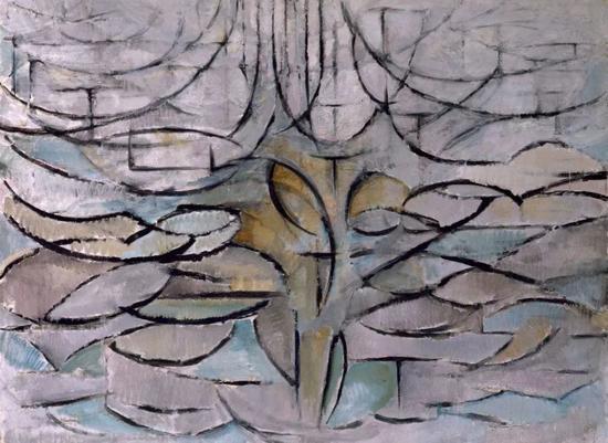 《开花的苹果树》(1912)