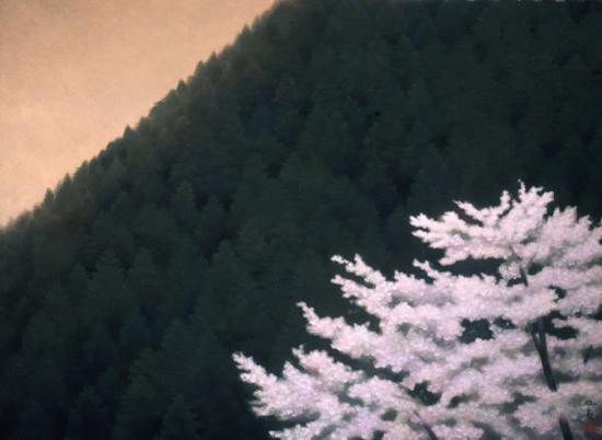 《春静》,东山魁夷,山种美术馆