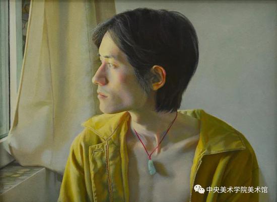 蔡昊坤,《往事》30x40cm 布面油画,2016