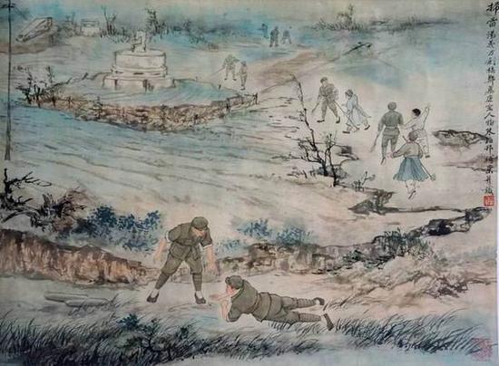 周煉霞鄭慕康笔下的《解放上海》