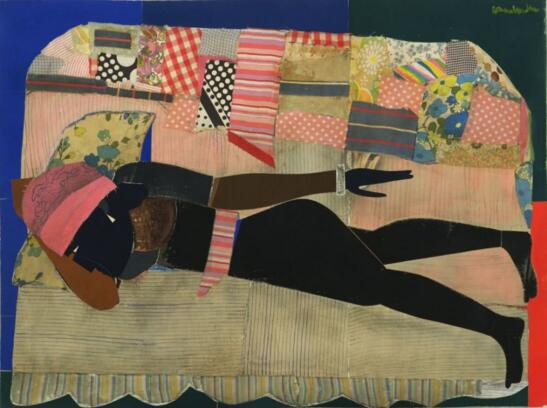 Romare Bearden, Patchwork Quilt,1970 2018