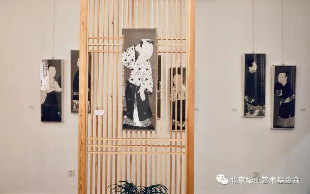 李晶彬工笔画展览雅集赏析