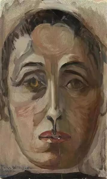 朵拉·玛尔的自画像