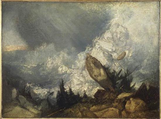约瑟夫·马洛德·威廉·透纳作品,布面油画 ,1810年展出,1856 年作为透纳遗赠由国家接收