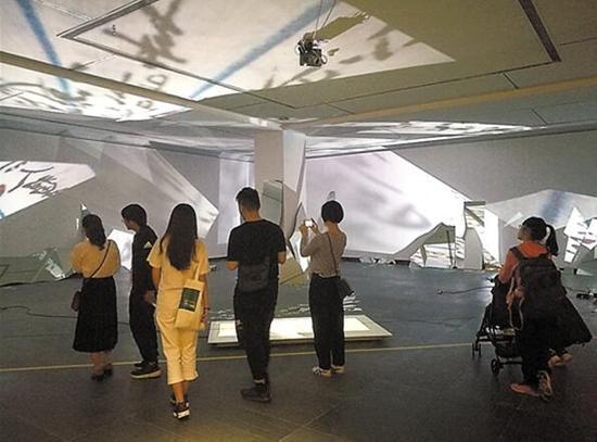 """广东美术馆""""王璜生:边界空间""""展览现场"""