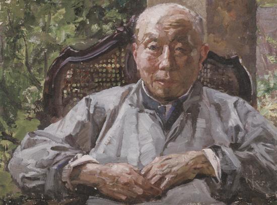 李宗津《颜文樑像》1975