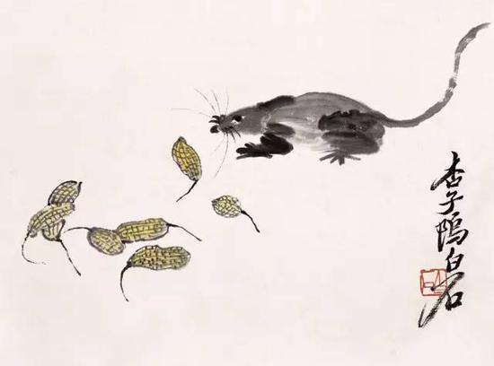 """大师也有趣 一生画鼠无数 竟被戏称为""""鼠画家"""
