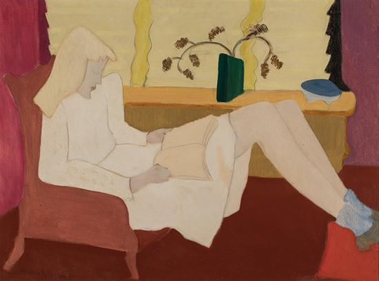 米尔顿·艾弗里《青春期》泰拉美国艺术基金会,丹尼尔·J·泰拉藏品