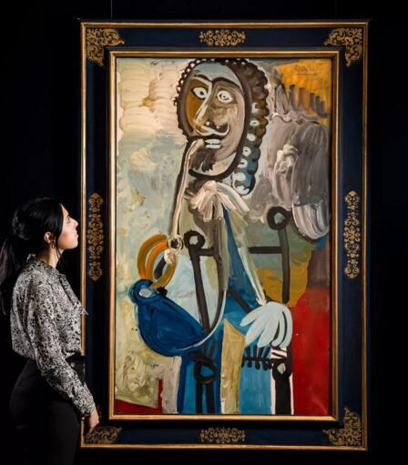 带你解读毕加索《男子与烟斗》