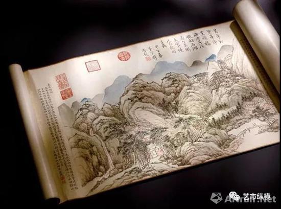 钱维城《台山瑞景》手卷成交价1.47亿港元 香港苏富比2018年春拍