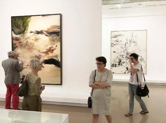 赵无极巴黎回顾展