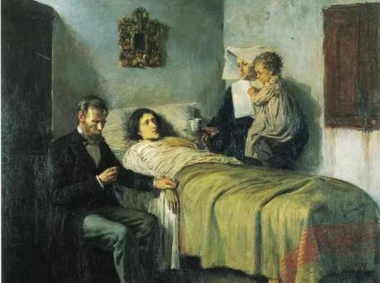 毕加索15岁时期作品