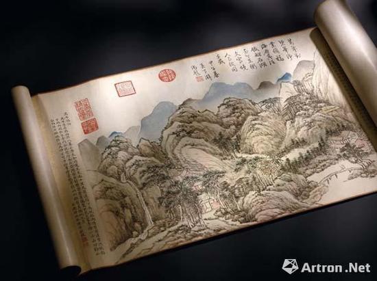 清 钱维城《台山瑞景》 1.467亿港币