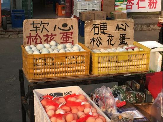 图片:北京昌平某早市。孙墨青,2018