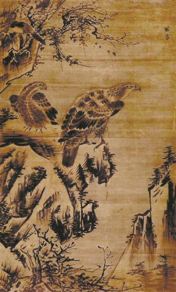 双鹰图 广东省博物馆藏