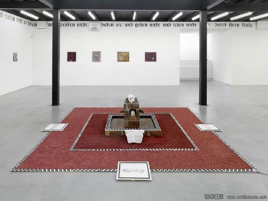 本杰明﹒苏拉《圣母赞歌.》装置现场,德国奥登堡美术馆,2014年