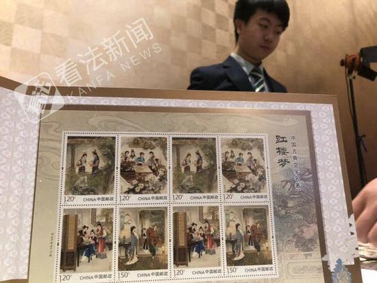 《红楼梦》邮票发行次日:引发集邮迷的热潮