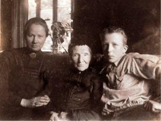 乔安娜,梵高的母亲,侄子文森特·梵高