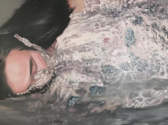 沉溺者之二  2018  布面油画  80x100cm