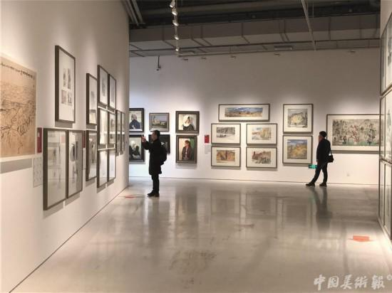 """中国国家画院""""一带一路""""写生作品展"""