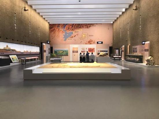 新升级改造的良渚博物院展厅