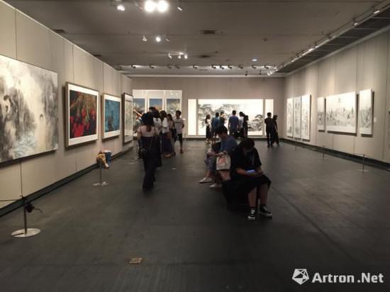 2018广州美术学院研究生毕业作品展现场