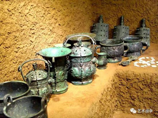 河南青铜器造假村