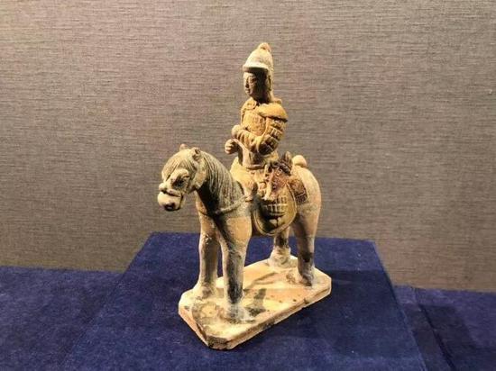 骑马俑,明代,四川博物馆藏