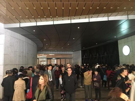 参观必先预约:宝库匠心馆成全民网红 人潮涌动-天然奇石