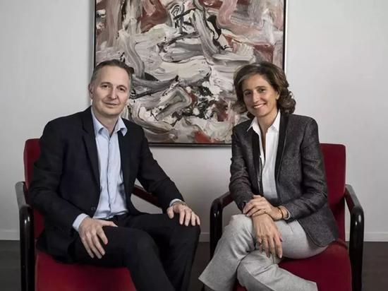 ▲ Lévy Gorvy画廊的Brett Gorvy 和Dominique Lévy