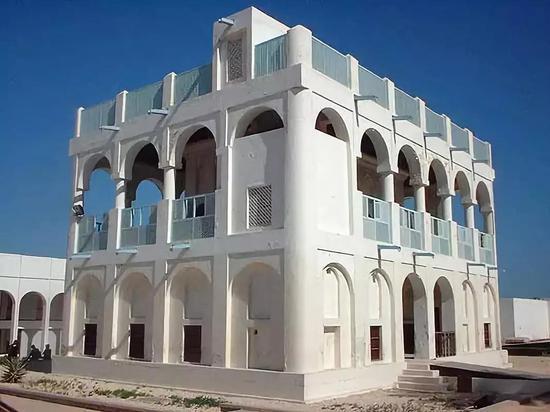 ▲卡塔尔国家博物馆
