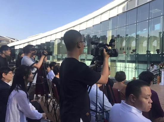 此次开幕仪式有上百家媒体进行了报道