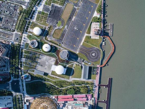 上海油罐艺术中心俯视图