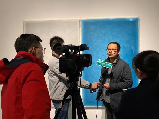 媒体采访桑火尧老师