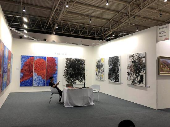 掇石艺术空间艺术北京现场