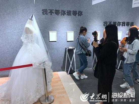 济南失恋博物馆婚纱展品