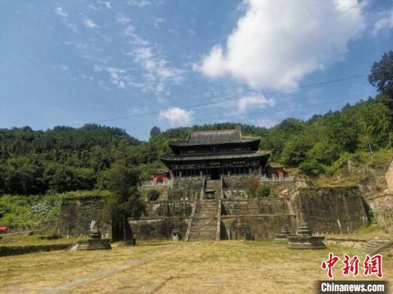 关于五龙宫遗址的考古研究