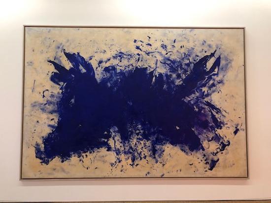 蓬皮杜艺术中心 伊夫・克莱因作品