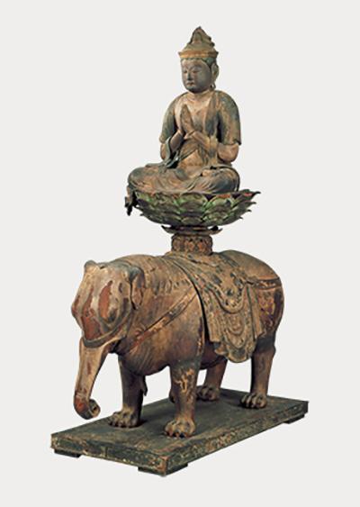 国宝 普贤菩萨骑象像 平安时代(12世纪)东京大仓集古馆藏