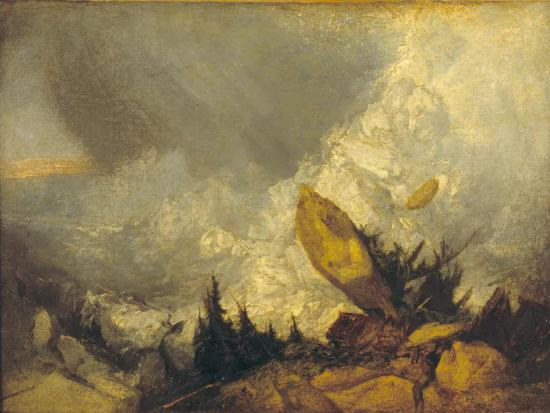 The Fall of an Avalanche in the Grisons,1810