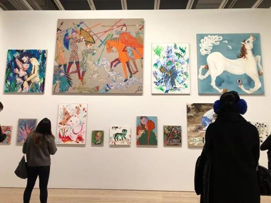 Whitney美术馆,Laura Owens展览