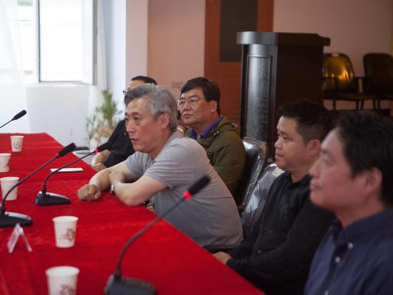 文化部艺术发展中心刘占文主任致辞