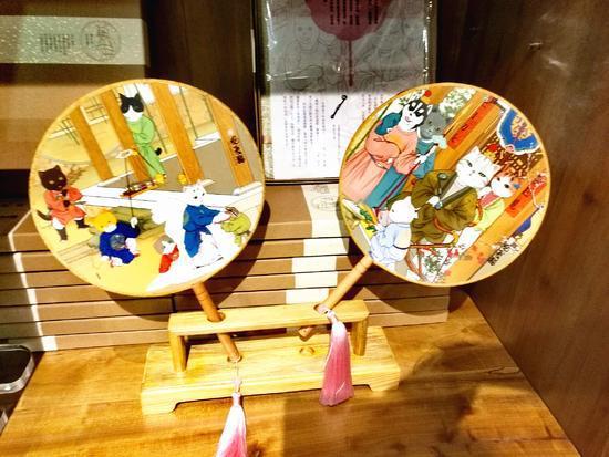 观复博物馆文创产品――观复猫团扇