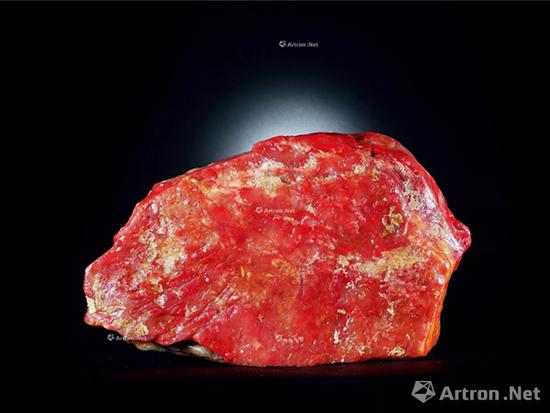 巴林鸡血原石 40×23×7cm;重量10871.6g