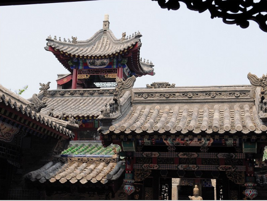 北京松堂博物馆一角